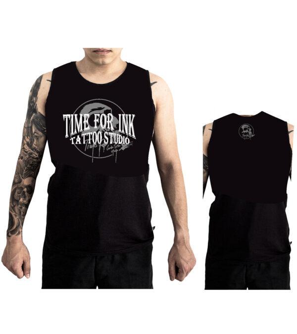 SLEEVELESS SHIRT TIME FOR INK
