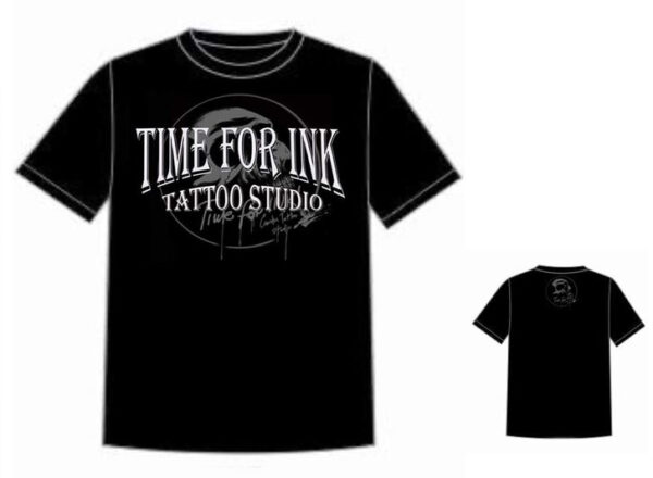 T-SHIRT TIME FOR INK BLACK