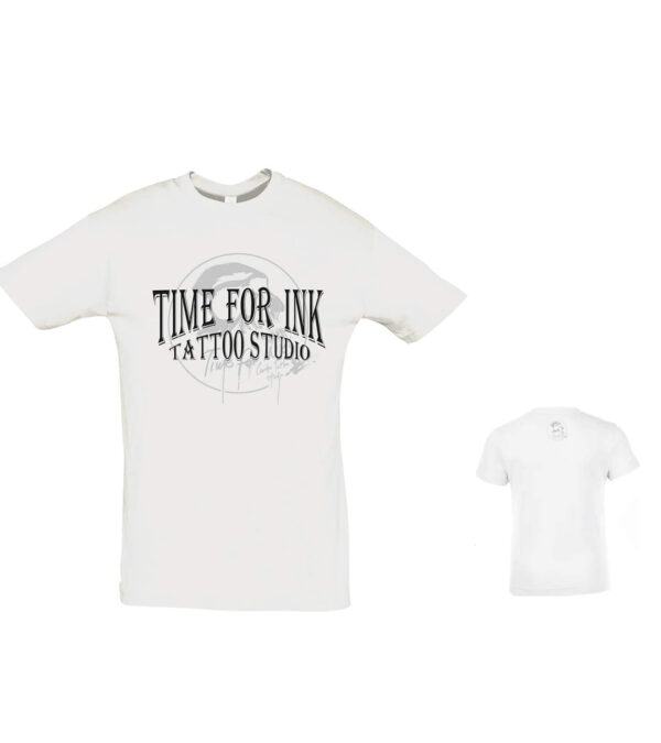 T-SHIRT TIME FOR INK WHITE