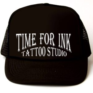 TRUCKER HAT TIME FOR INK