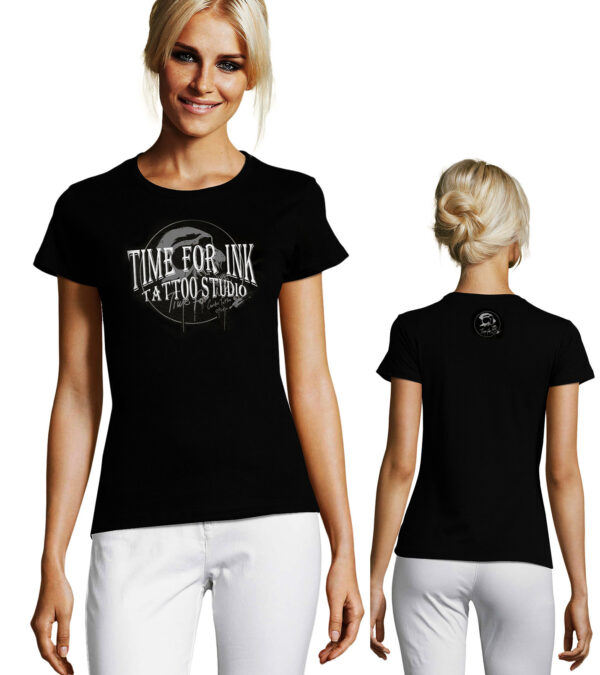 WOMENS T-SHIRT TIME FOR INK